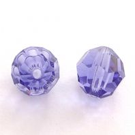 Tanzanite 5000 Swarovski Crystal Round Beads 8mm PK5